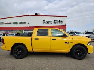 2019 Ram 1500 Classic Express Stinger Yellow Truck Crew Cab