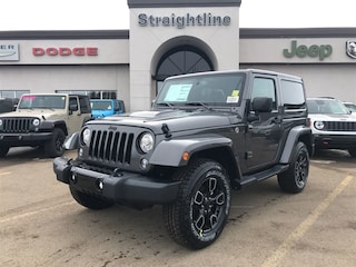 New 2018 Jeep Wrangler JK Sahara SUV 1C4AJWBGXJL881207 18186 Granite Crystal Metallic for Sale in Fort Saskatchewan