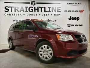 2017 Dodge Grand Caravan SXT Plus- Low Mileage, Dealer Driven, Stow N Go Van