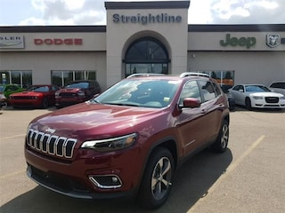 New 2019 Jeep New Cherokee Limited SUV 1C4PJMDN0KD231159 19046 Velvet Red Pearl for Sale in Fort Saskatchewan
