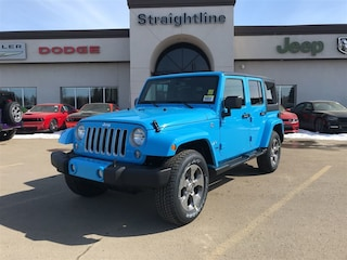New 2018 Jeep Wrangler JK Unlimited Sahara SUV 1C4BJWEG5JL904067 18203 Chief for Sale in Fort Saskatchewan