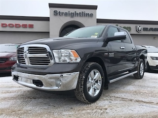 New 2018 Ram 1500 Big Horn Truck Crew Cab 1C6RR7LT3JS215283 18144 Granite Crystal Metallic for Sale in Fort Saskatchewan