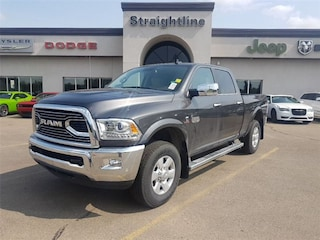 New 2018 Ram 2500 Laramie Longhorn Truck Crew Cab 3C6UR5GL1JG289544 18298 Granite Crystal Metallic for Sale in Fort Saskatchewan