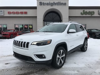New 2019 Jeep New Cherokee Limited SUV 1C4PJMDX6KD108323 19003 Bright White for Sale in Fort Saskatchewan