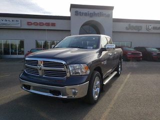 New 2018 Ram 1500 Big Horn Truck Quad Cab 1C6RR7GM9JS349668 18317 Granite Crystal Metallic for Sale in Fort Saskatchewan