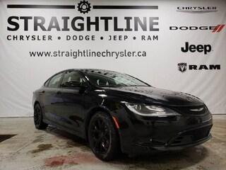 Used 2016 Chrysler 200 S Sedan 18171A for Sale in Fort Saskatchwan