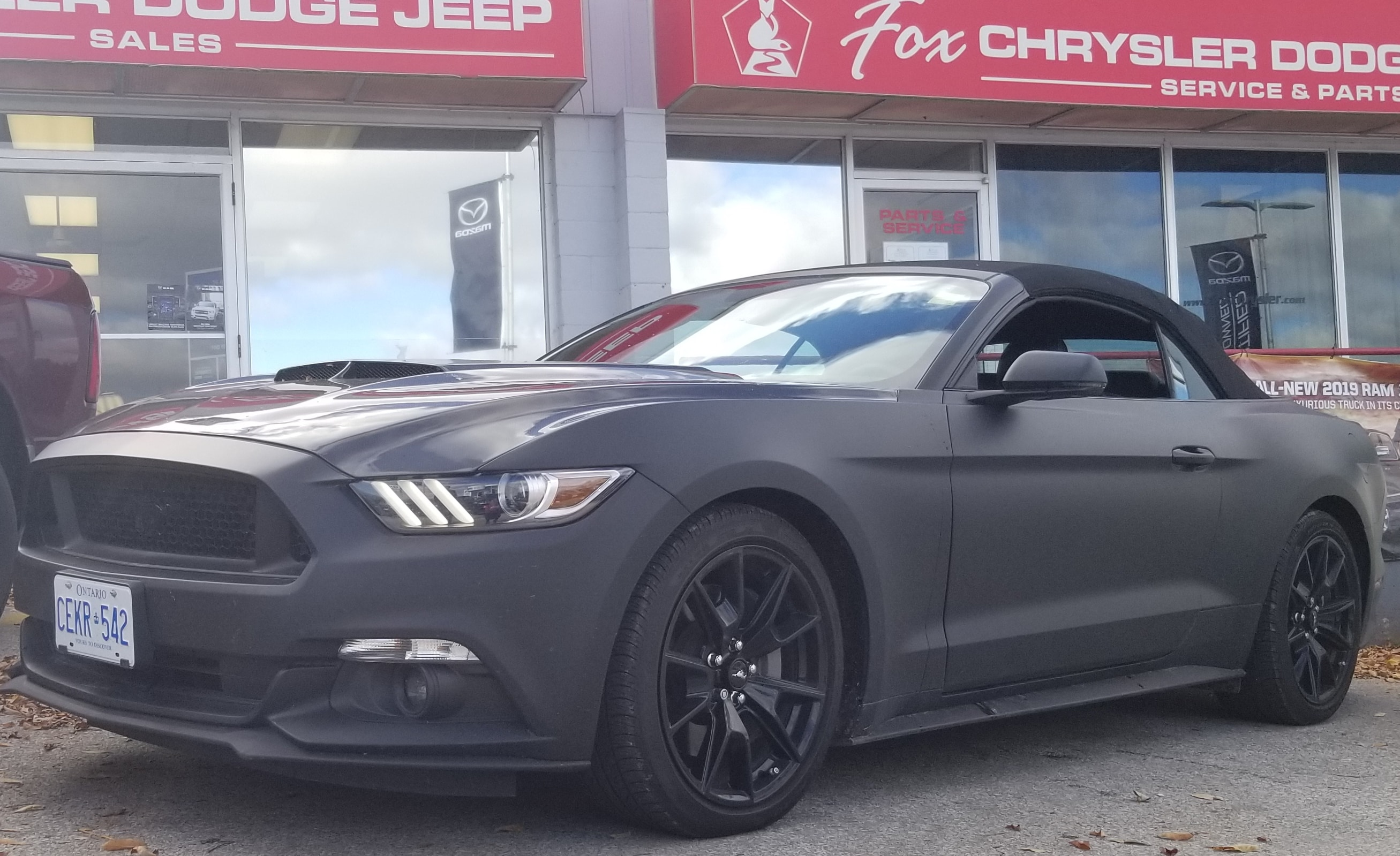 Used 2017 ford mustang gt premium for sale owen sound on