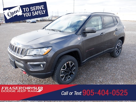Used 2021 Jeep Compass Trailhawk SPORT UTILITY for sale in Oshawa, ON