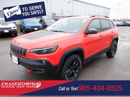 Featured 2021 Jeep Cherokee Trailhawk 4x4 for sale in Oshawa, ON