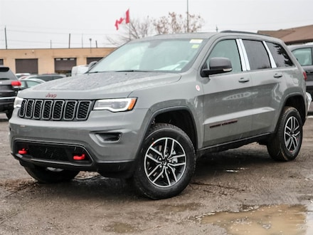 Used 2020 Jeep Grand Cherokee Trailhawk SPORT UTILITY for sale in Oshawa, ON