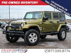 Pre-Owned 2008 Jeep Wrangler Unlimited Sahara for sale in Oshawa, ON