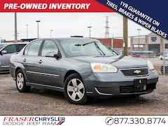 Pre-Owned 2006 Chevrolet Malibu LT YOU CERTIFY YOU SAVE SEDAN . for sale in Oshawa, ON