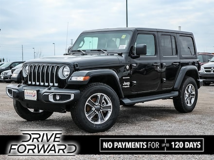 Featured 2020 Jeep Wrangler Unlimited Sahara SUV for sale in Oshawa, ON