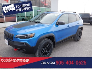 New 2021 Jeep Cherokee Trailhawk 4x4 for sale near Toronto, ON