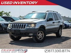 Pre-Owned 2002 Jeep Grand Cherokee Laredo CLEAN CARFAX for sale in Oshawa, ON