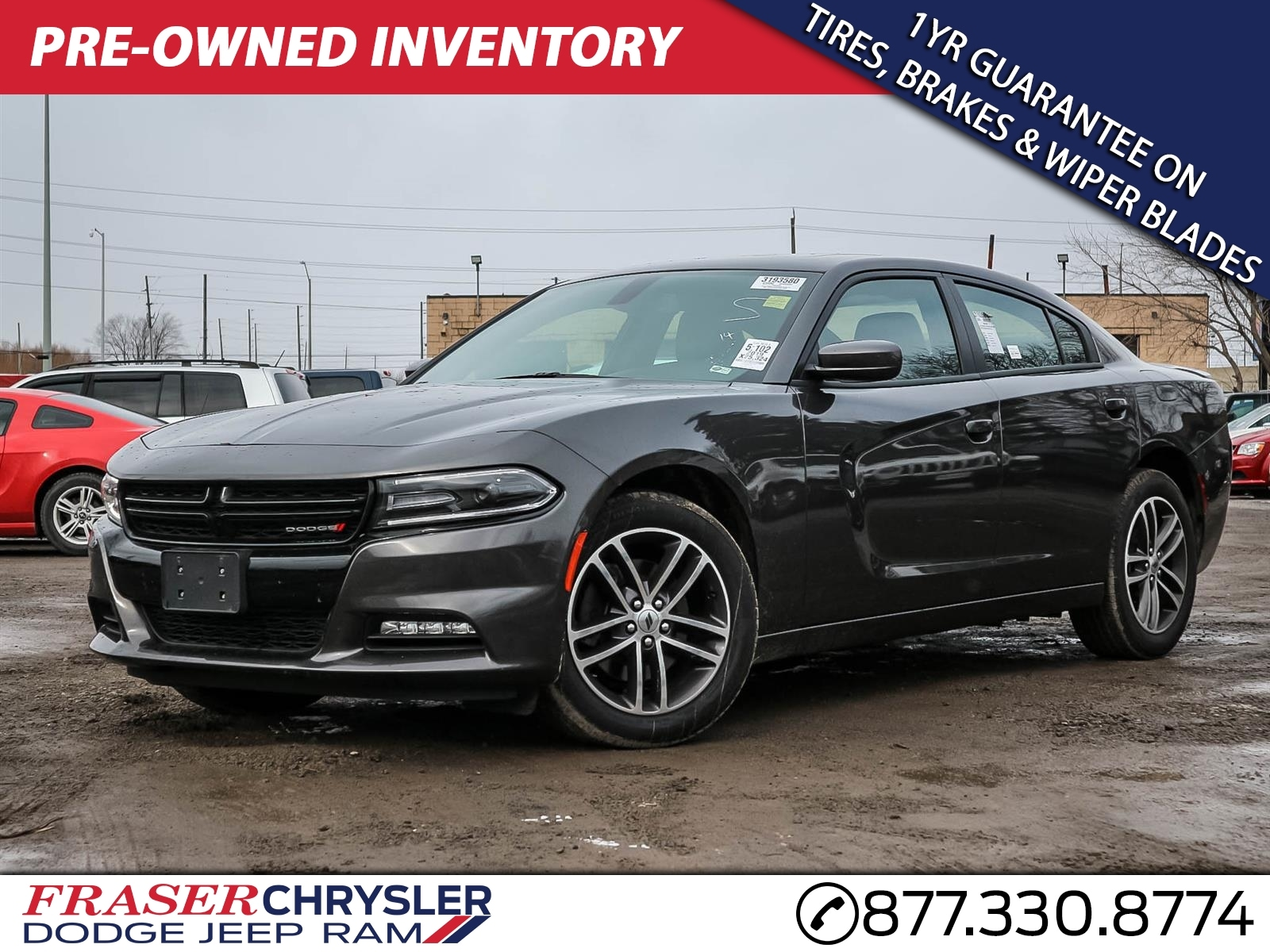 Used 2019 Dodge CHARGER SXT ALL WHEEL DRIVE ALL WHEEL DRIVE, REMOTE KEYLESS ENTRY, REMOTE STAR SEDAN . for sale in Oshawa, ON