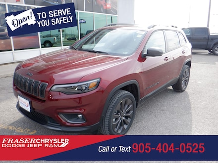 Used 2021 Jeep Cherokee 80th Anniversary SPORT UTILITY for sale in Oshawa, ON