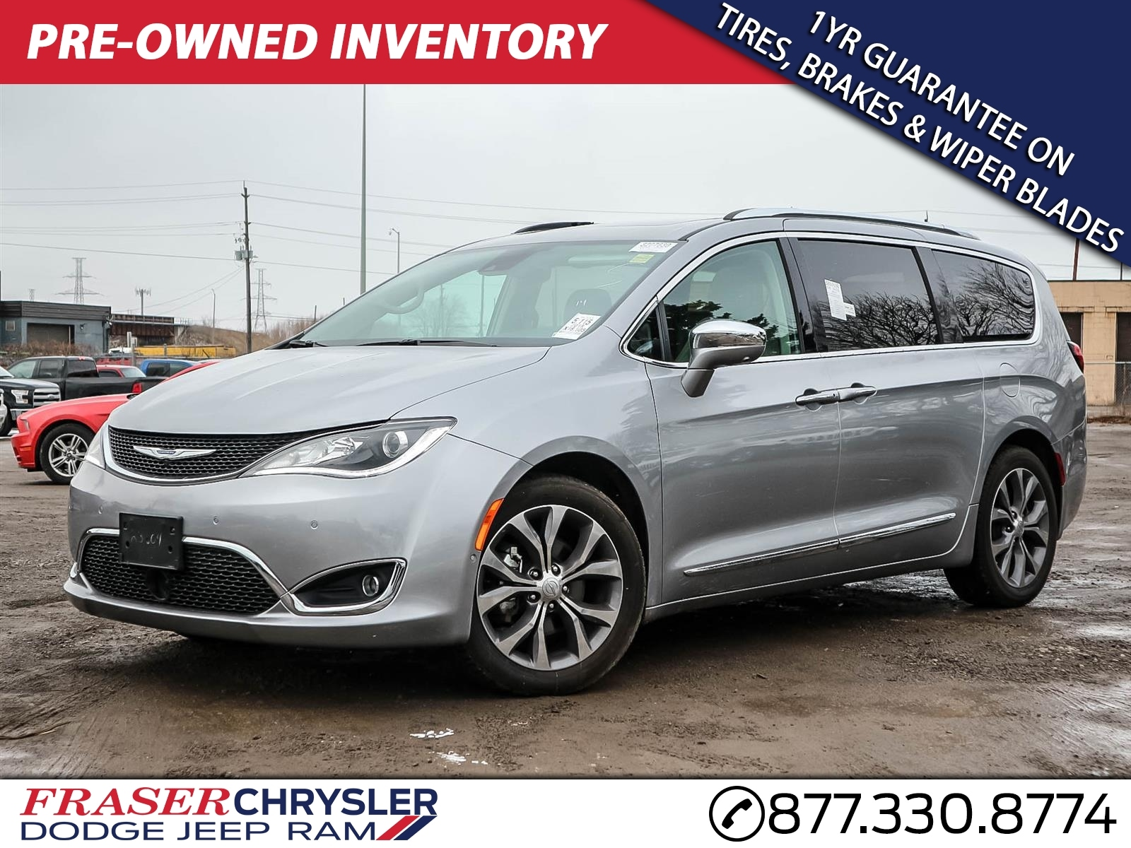 Used 2018 Chrysler PACIFICA LIMITED COMPANY CAR, NAVIGATION, SUNROOF, LEATHER, POWER S VAN for sale in Oshawa, ON