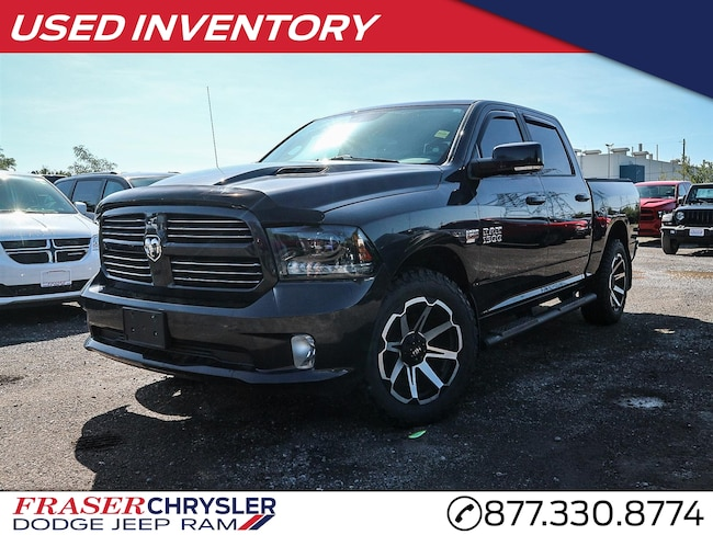 2015 Ram 1500 SUNROOF, NAVIGATION, VENTED FRONT SEATS CREW PICKUP
