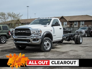 New 2019 Ram 4500 Chassis Tradesman Truck Regular Cab for sale in Oshawa, ON