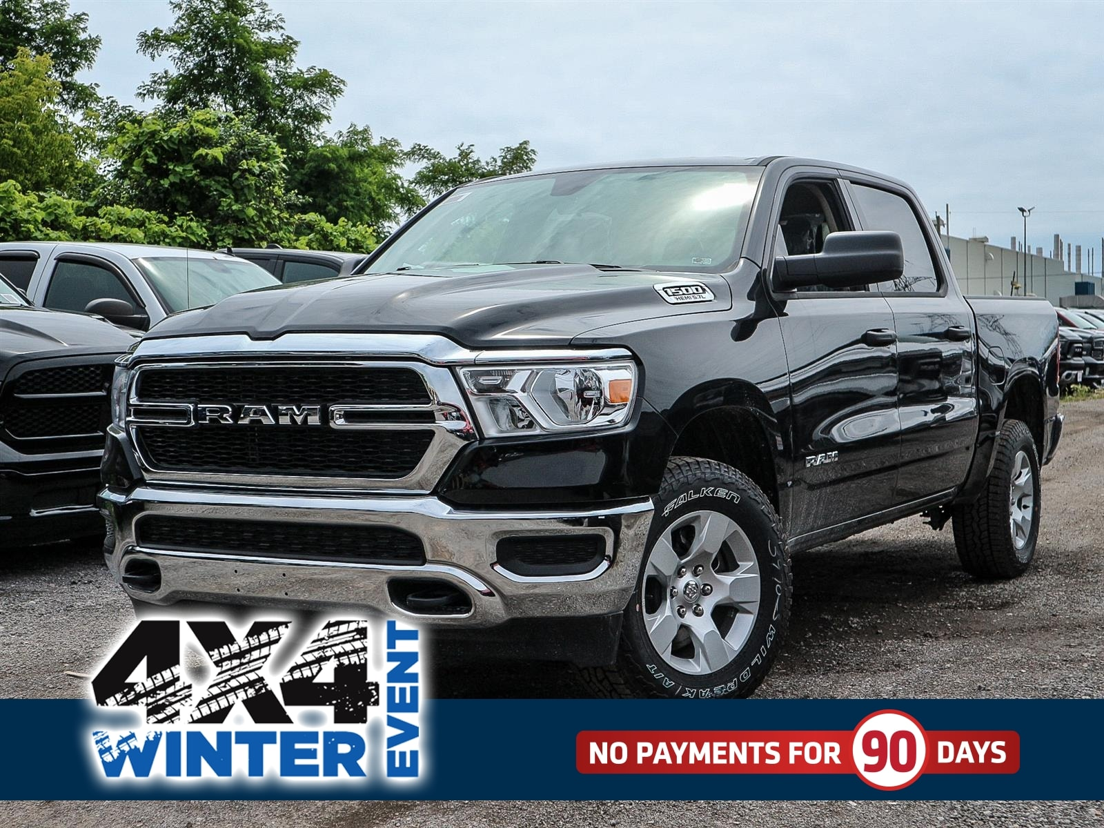Featured 2019 Ram All-New 1500 SXT Truck Crew Cab for sale in Oshawa, ON