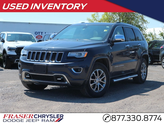 2014 Jeep Grand Cherokee Overland VENTED SEATS, UCONNECT WITH NAVIGATION