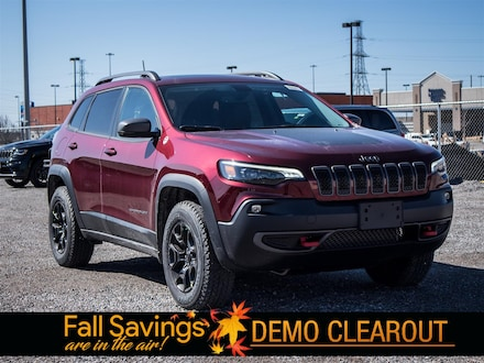 Used 2020 Jeep Cherokee Trailhawk 4X4 Trailhawk Elite SUV for sale in Oshawa, ON