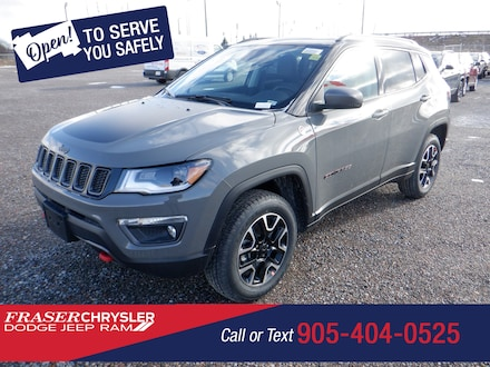 Used 2021 Jeep Compass Trailhawk Elite SPORT UTILITY for sale in Oshawa, ON