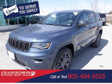 Used 2021 Jeep Grand Cherokee 80th Anniversary Edition SPORT UTILITY for sale in Oshawa, ON
