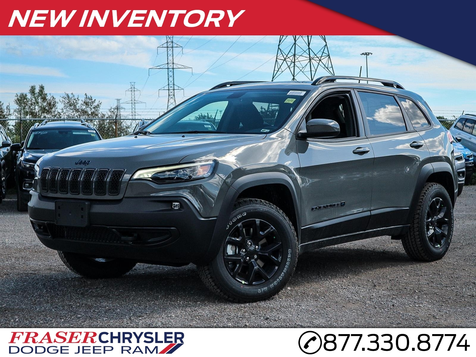 New Jeep Cherokee Vehicles for Sale | Chrysler Canada Deals