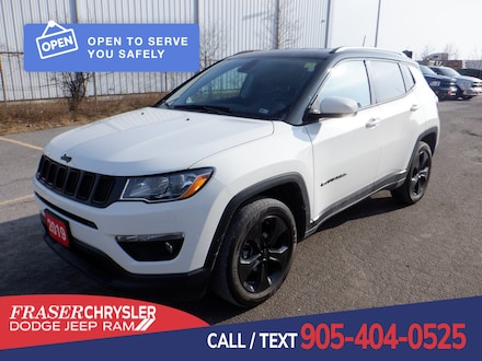 Used 2019 Jeep Compass Latitude TOUCH SCREEN, HEATED FRONT SEATS, COLD WEATHER GRO for sale in Oshawa, ON