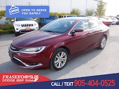 Pre-Owned 2016 Chrysler 200 Limited LIMITED, KEYLESS ENTRY, BLUETOOTH,  CLEAN CARFAX SEDAN . for sale in Oshawa, ON