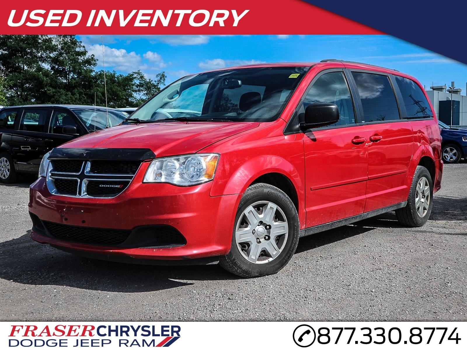 Featured Used 2013 Dodge GRAND CARAVAN SXT STOW N GO, UCONNECT, POWER SEAT for sale in Oshawa, ON
