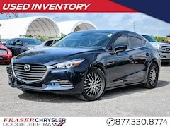 Pre-Owned 2018 Mazda Mazda3 SE ONE OWNER, JUST TRADED IN, CLEAN CARFAX SEDAN . for sale in Oshawa, ON