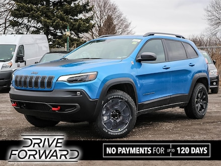 Featured 2020 Jeep Cherokee Trailhawk SUV for sale in Oshawa, ON