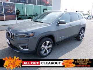 New 2020 Jeep Cherokee Limited SUV in Oshawa, ON