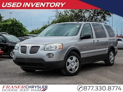 Pre-Owned 2009 Pontiac Montana SV6 SUPER LOW KM'S MIDDLE ROW CAPTAIN CHAIRS VAN for sale in Oshawa, ON