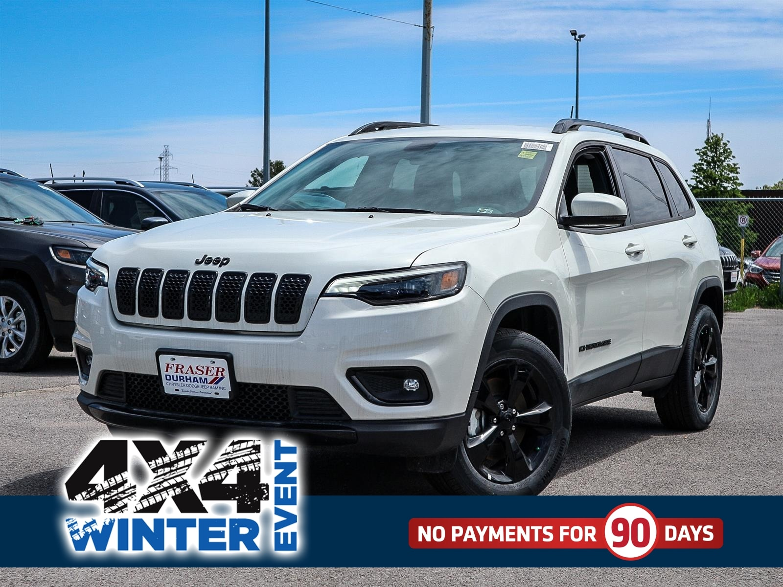 Featured 2019 Jeep New Cherokee Altitude SUV for sale in Oshawa, ON