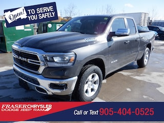 New 2021 Ram 1500 Big Horn 4x4 Quad Cab 140.5 in. WB for sale in Oshawa, ON