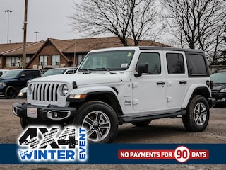 New 2020 Jeep Wrangler Unlimited Sahara SUV for sale in Oshawa, ON