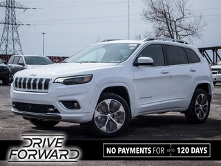 New 2020 Jeep Cherokee Overland SUV for sale near Toronto, ON