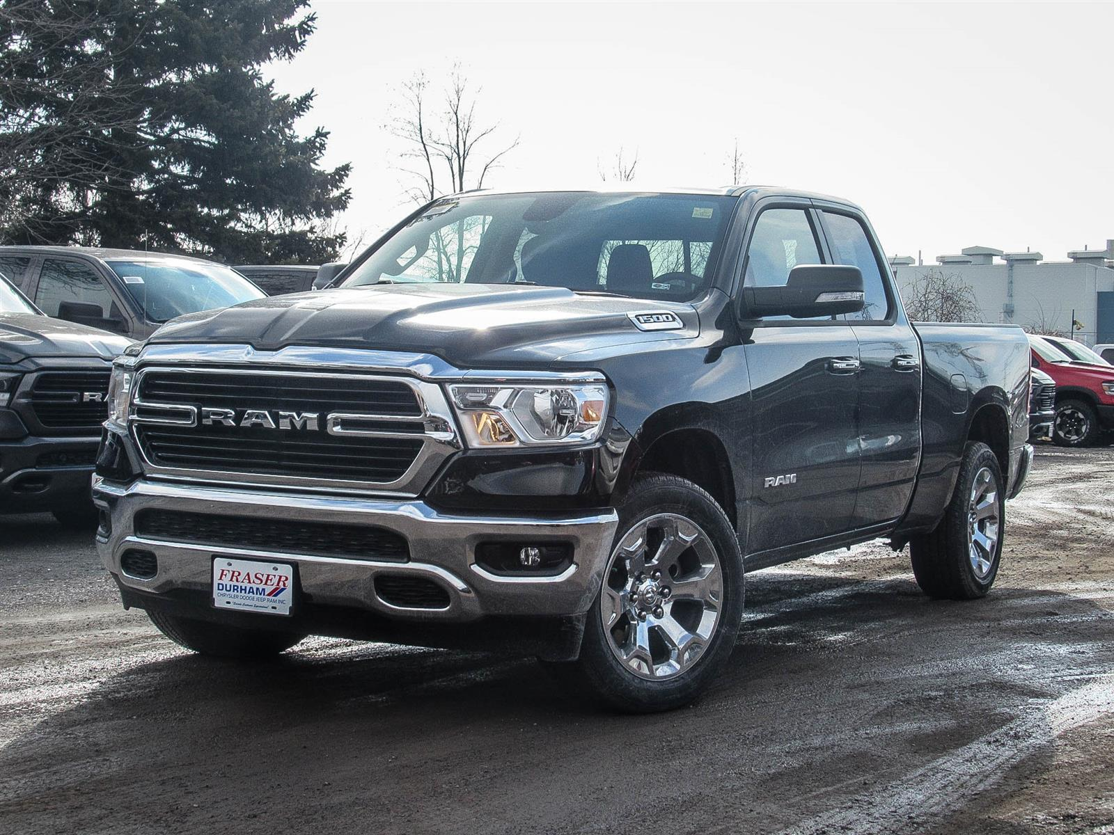 Featured 2019 Ram All-New 1500 Big Horn Truck Quad Cab for sale in Oshawa, ON