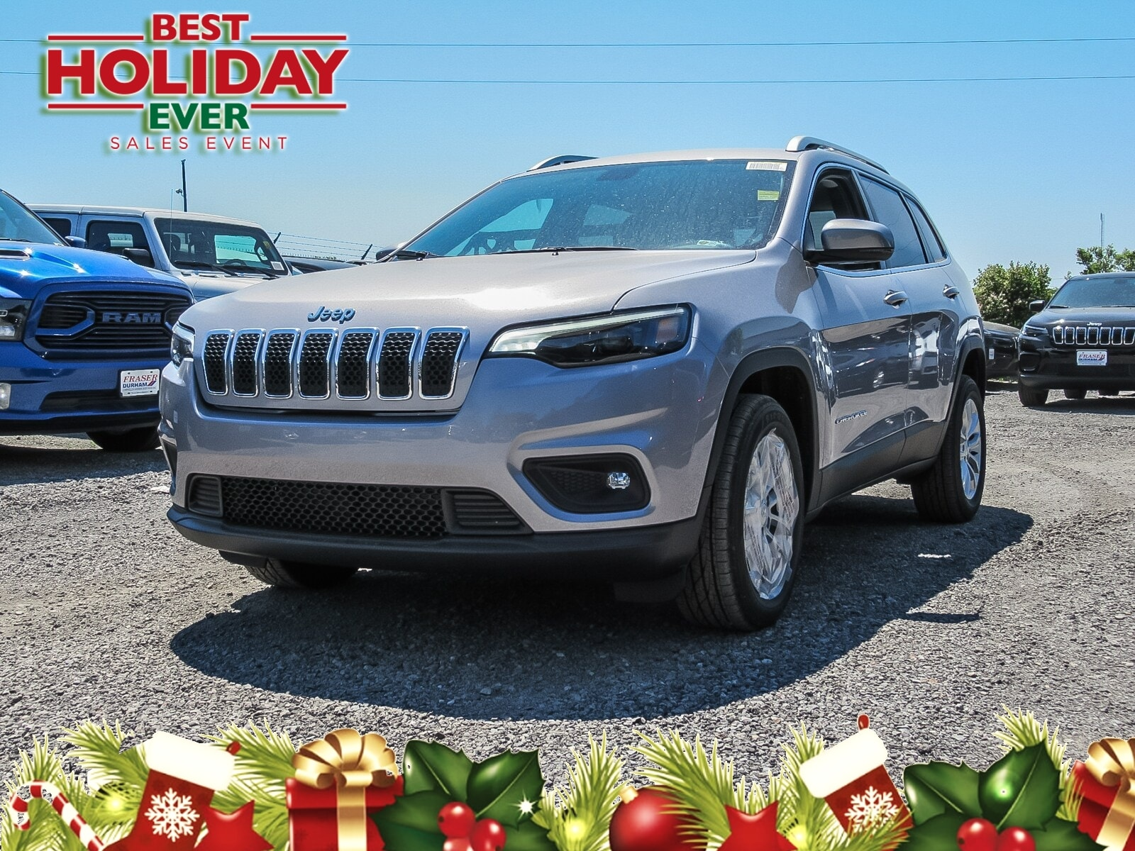 Featured 2019 Jeep New Cherokee North SUV for sale in Oshawa, ON