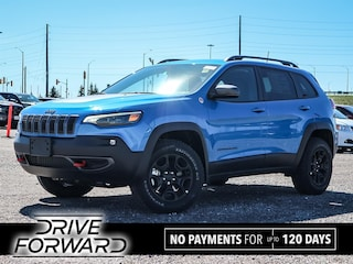 New 2020 Jeep Cherokee Trailhawk SUV for sale in Oshawa, ON