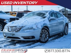 Pre-Owned 2012 Chrysler 200 Limited LEATHER, TOUCH SCREEN, HEATED SEATS, REMOTE STARTER, SIRIUS RADIO, USB PORTS, SUNROOF, BLUETOOTH, COMPASS SEDAN . for sale in Oshawa, ON