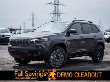 Used 2020 Jeep Cherokee Trailhawk SPORT UTILITY for sale in Oshawa, ON