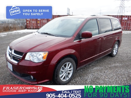Used 2020 Dodge Grand Caravan Premium Plus MINI-VAN, PASSENGER for sale in Oshawa, ON