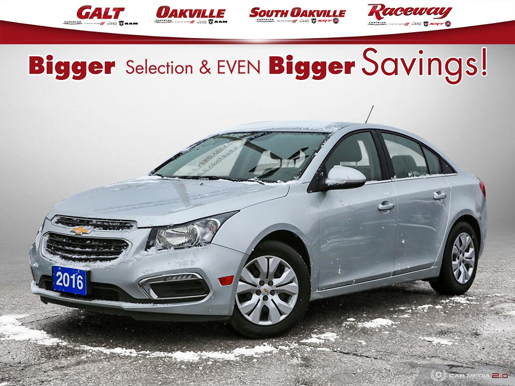 2016 Chevrolet Cruze Limited 1LT | WE ARE OPEN 9AM - 5PM Sedan