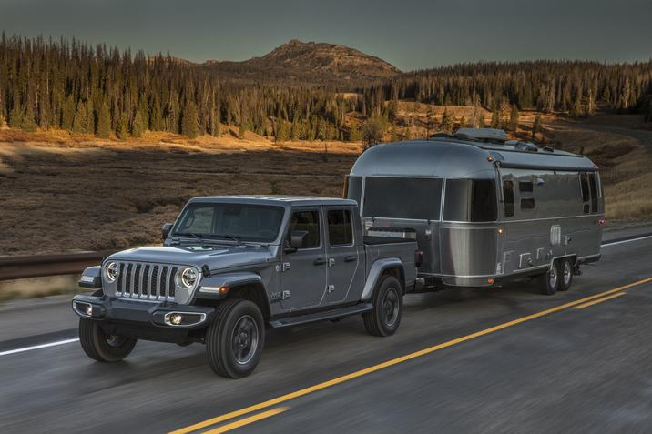 2020 Jeep Wrangler towing