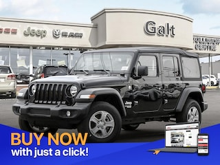 2019 Jeep Wrangler Unlimited SPORT 4X4 | MANUAL UCONNECT SUV
